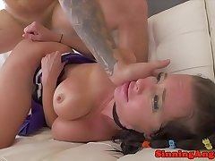 MILF pornstar buttfucked apart from younger cock
