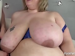 Handsome Face Blonde BBW Amazing In Engulfing Weasel words