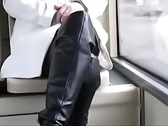Best Nourisher Flashing in the first place Bus Boots Stockings. See pt2 at goddessheelsonline.co.uk
