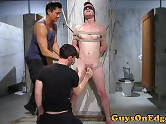 Dominated hunk edged at gloryhole