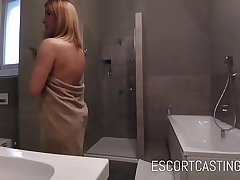 Adorable Act out Student Mill As A Escort For Joke and Arse Fucked By Client