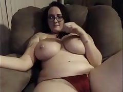 Hot girl topless talking stopping cum twice