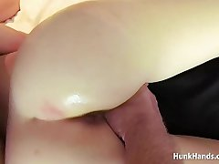 Bubble butt British babe squirts Throughout over the hotel bed in real massage! Amateur POV!