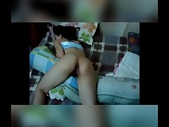 Amiga b&ecirc_bada da balada dormindo Sleeping toper girlfriend