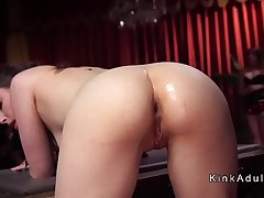 Sexy busty and big asses slaves tormented