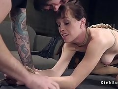 Ex husband ties up coupled with fucks ex wife