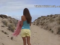 total teen nude at beach