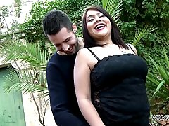Curvy Lolita Fucked and Fingered Until She Blasts Outdoors