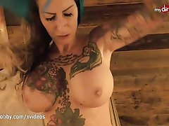 My Dirty Hobby - Gaffer tattooed MILF blows her man