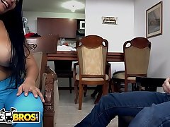 BANGBROS - Latina MILF Maid Casandra Cleans and Fucks For Extra Cash